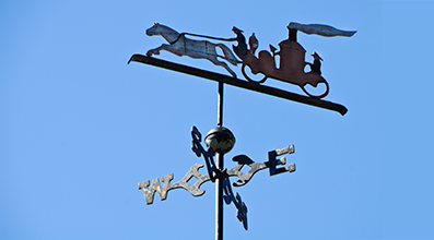 Specialty Weathervane fabrication