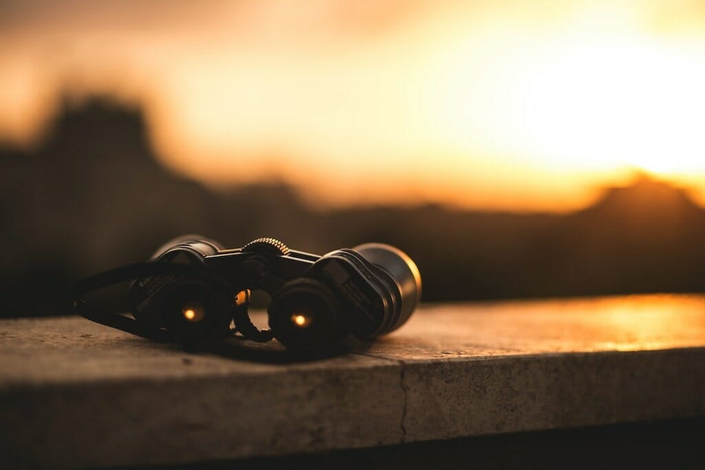 binoculars-sitting-on-a-ledge